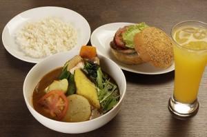 ネザーランド カレー ハンバーガー