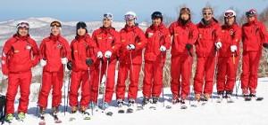 スキーガイド インストラクター
