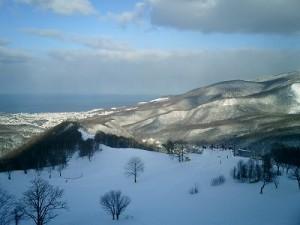 朝里川温泉スキー場 上