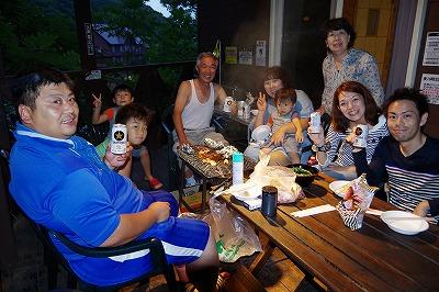 お客様 貸別荘 生ビール バーベキュー グループ