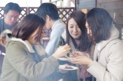 お客様 別荘 バーベキュー 団体 会社