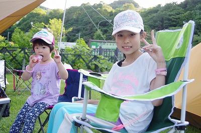お客様 キャンプ場 ファミリー グループ 初夏 子ども
