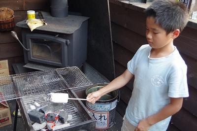お客様 子ども バーベキュー 食材 マシュマロ焼き