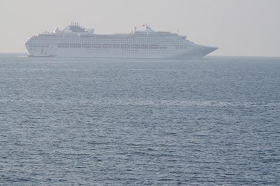 船浜別荘 海 客船 サン・プリンセス