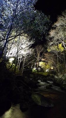 小樽の朝里川がライトアップされて綺麗です!!
