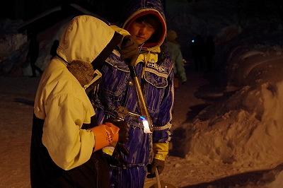 雪あかりの路 2015 スタッフ ボランティア OKOVO