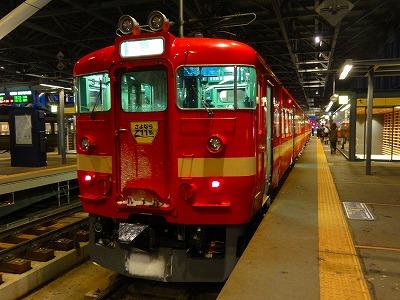 赤い電車 JR