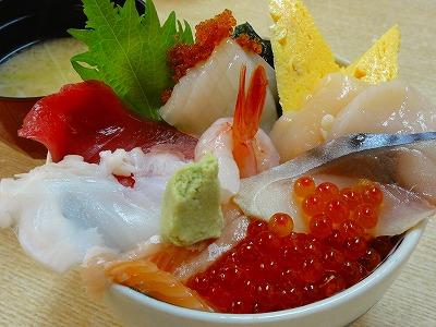 南樽市場 海鮮丼