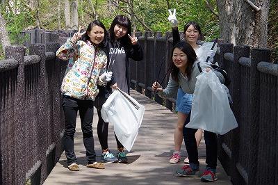 朝里川クリーンアッププロジェクト スナップ1
