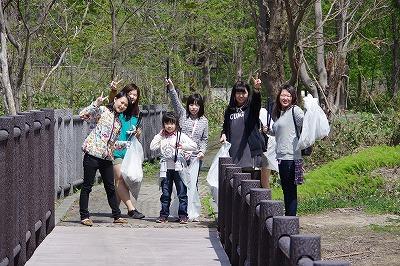 朝里川クリーンアッププロジェクト スナップ2
