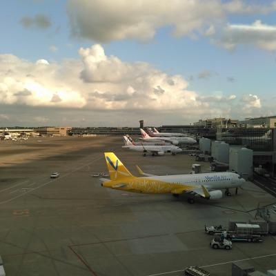 バニラエア 成田 飛行機