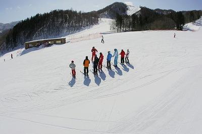 朝里川温泉スキー場 レッスン