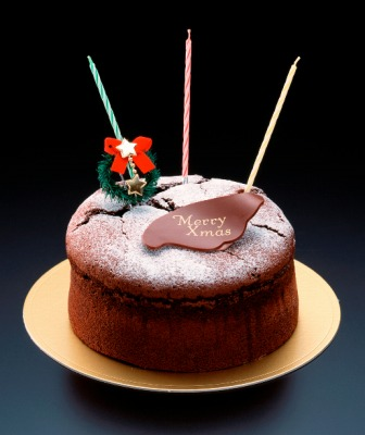 小樽TOYSスゥイート 2015クリスマスケーキ ガトーショコラ