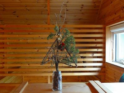 クリスマスツリー 2015 クチル花店 qoulou cafe、コーローカフェ