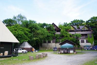 キャンプ場 夏