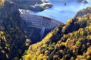 豊平峡ダム 拝借写真