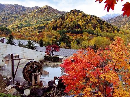 紅葉の名所、豊平峡ダムや豊平峡温泉はいつ見ごろ?